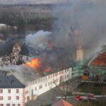 Schloss Ehrenstein: Wiederaufbau nach Großbrand startet