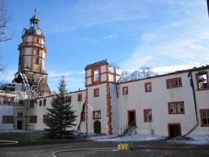 Schloss Ehrenstein im thüringischen Ohrdruf braucht Hilfe (c) Ruth Breer