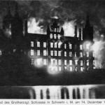 Vor 100 Jahren: Großbrand im Schweriner Schloss