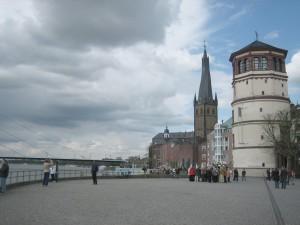 Schlossturm und St. Lambertuskurche