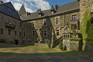 Der Schlosshof von Braunfels / Foto: Wikipedia/Egetmeyer