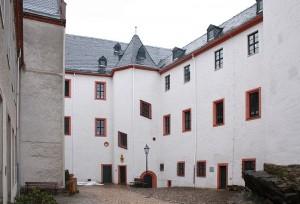 Der Innenhof von Schloss Schwarzenberg / Foto: Wikipedia / Devilsanddust / CC-BY-SA-3.0,2.5,2.0,1.0
