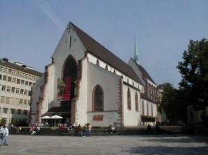 Die Barfüsserkirche - heute Teil des Historischen Museums Basel / Foto: Wikipedia / Rynacher / CC-BY-SA-3.0-migrated