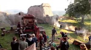 Medicus-Dreharbeiten auf Burg Hanstein / Bild: Sreenshot Youtube