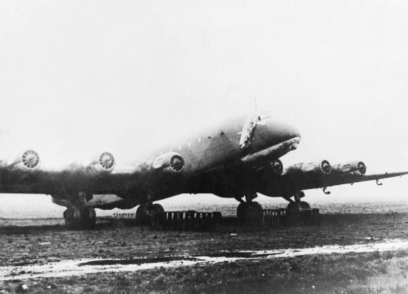 Amerikabomber? Konnte es die Junkers JU 390 bis New York schaffen? / Foto: Imperial War Museum/Public Domain