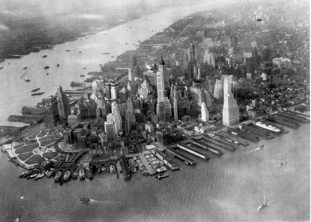 Ziel von Hitlers Rachedurst für den Amerikabomber: New York / Foto und Foto oben: gemeinfrei