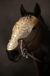 Eine Pferdemaske aus Bronze (Nachbildung) / Foto: Regierungspräsidium Stuttgart