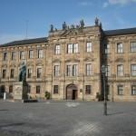 Schloss Erlangen: Beim Brand von 1814 gefror das Löschwasser
