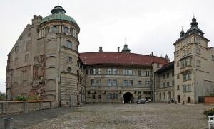 Der Innenhof von Schloss Güstrow / Foto: Wikipedia / Norbert Kaiser / CC BY-SA 3.0