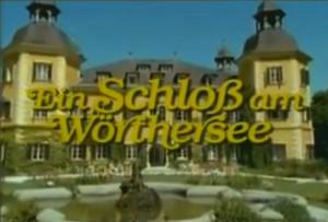 """Vorspann von """"Ein Schloss am Wörthersee"""" (vor der Rechtschreibreform noch mit """"ß"""" gechrieben / Bild: Screenshot Youtube"""