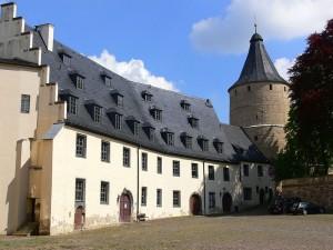 """Junkerei und """"Flasche"""" von Schloss Altenburg / Foto: Wikipedia/WikiABG/CC-BY-SA-3.0,2.5,2.0,1.0"""