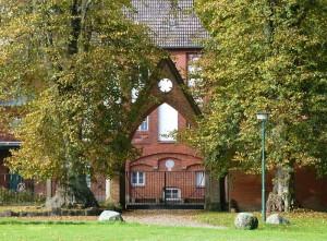 Tor zu Schloss Kalkhorst /
