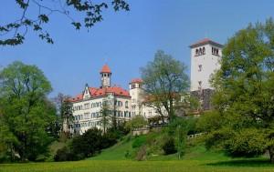 Durchaus malerisch: Schloss Waldenburg wurde während der Dreharbeiten abgeriegelt / Foto: Wikipeida/Je-str/CC-BY-SA-3.0