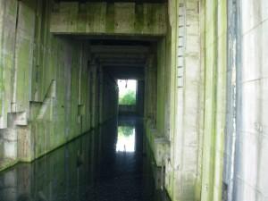 Innenansicht des Bunkers zur Weser hin / Foto: Wikipedia/Public Domain