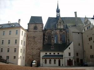 Altenburg: Der Schlosshof / Foto: Wikipedia/Jwaller/CC-BY-SA-3.0