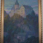 Rätselhaftes Ölbild: Wer kennt die Burg?
