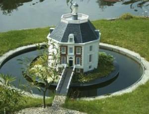 Modell von Schloss Drakensteyn / Foto: Wikipedia/SieBot