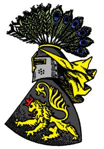Wappen der Vögte von Plauen aus dem 13. Jahrhundert