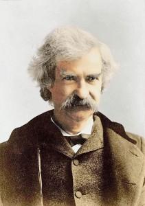 Mark Twain alias Samuel L. Clemens im Jahr 1895 / Foto: gemeinfrei
