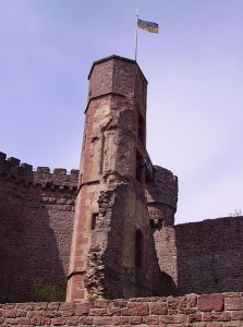 Turm der Burgruine Dilsberg / Foto: gemeinfrei