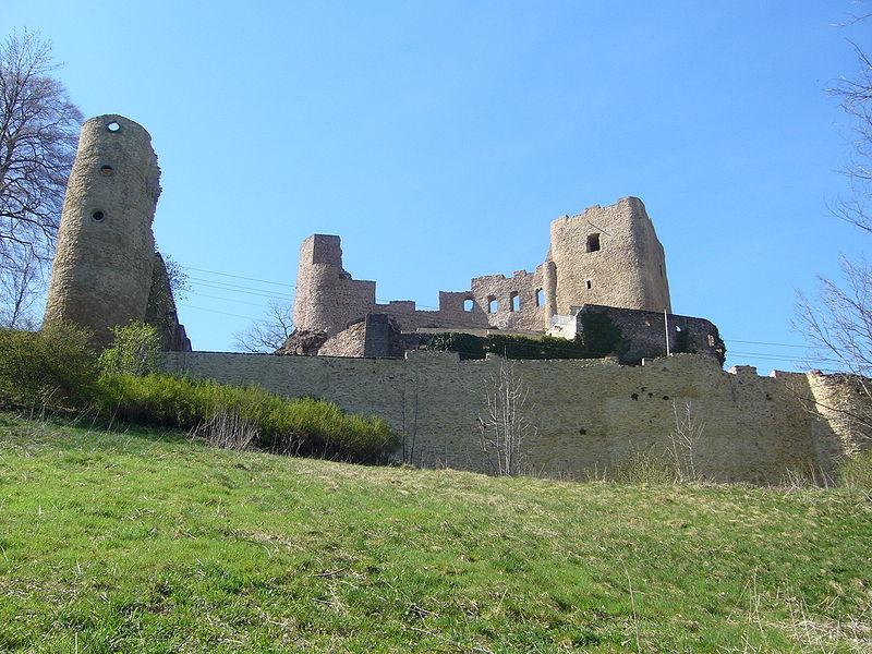 Die Ruine von Burg Frauenstein / Foto: Wikipedia / Jana2508
