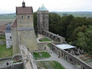 Burg Stolpen mit dem Coselturm / Foto: Wikipedia / Thomas Henkel Hen.th / CC BY-SA 2.0 DE