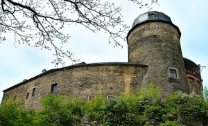 Burg Mylau mit charakteristischer Turmhaube / Foto: Wikipedia
