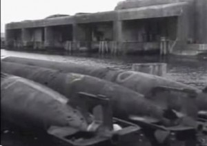Der Bunker Fink II vor der Sprengung / Screenshot: Youtube