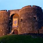 Carrickfergus Castle: Geheimgang ausgegraben