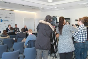 Pressekonferenz von Polizei und Staatsanwaltschaft zur Tötung eines Säuglings in Krefeld / Foto: Stadt Spiegel