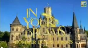 Sommer Deines Lebens: Schloss Marienburg dominiert den Vorspann / Bild: Screenshot YouTube