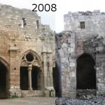 Krak des Chevaliers: Fotovergleich zeigt schwere Schäden