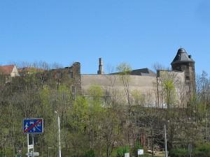 Die Überreste des Schlosses der Vögte von Plauen / Foto: Wikipedia / N8eule78 / CC BY 3.0 DE