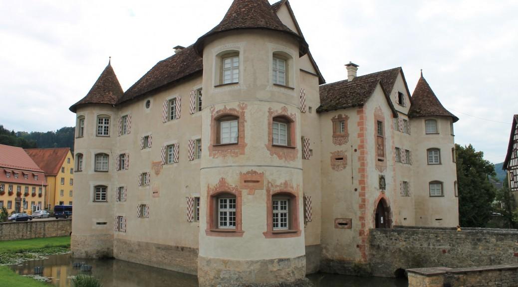 Schloss Glatt bei Sulz am Neckar / Foto: Burgerbe.de