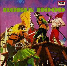 So hab ich Robin Hood kennen gelernt: Die alte Europa-Schallplatte...