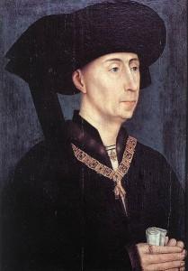 Herzog Philipp von Burgund half, den Frieden zwischen Soest und Kölner Erzbischof zu schließen: Schloss Scheidlingen war da schon zerstört / Bild: Gemeinfrei