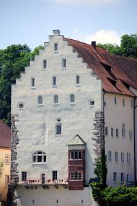 Schloss Beuggen: Fassade des Alten Schlosses / Foto: Wikipedia / Wladyslaw / CC BY 3.0 DE