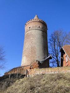 Bergfried von Burg Stargard / Foto: Wikipedia / Niteshift (talk) /