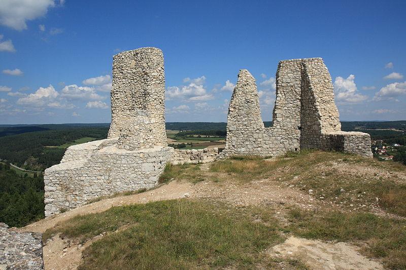 Die Ruine der Hohenburg / Foto: Sven-121 / Public Domain