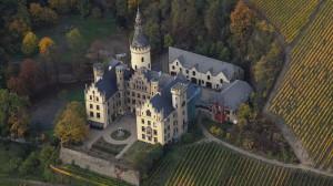 Schloss Arenfels aus der Luft / Foto: Wikipedia / Wolkenkratzer / CC BY 3.0 DE