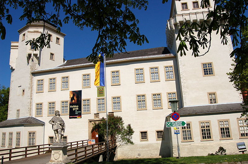 Der Schatz wird auf Schloss Asparn/Zaya gezeigt / Foto: gemeinfrei