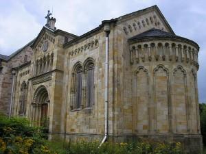 Die Kapelle von Schloss Reinhardsbrunn /