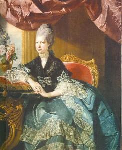 Sophie-Charlotte von Mecklenburg-Sterlitz; Königin von England / Bild: Wikipedia / public domain