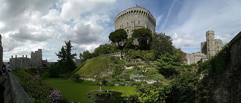 Windsor Castle: Der mächtige Rundturm / Foto: Wikipedia / Petr.noha / CC BY 3.0