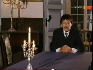 Ottomar Rodolphe Vlad Dracula Prinz Kretzulesco 2004 im Gespräch mit dem MDR / Bild: Screenshot Youtube