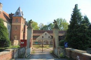 Der Eingang zu Schloss Senden