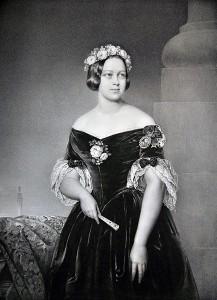 Königin Marie (1843): Die ärgerte die preußischen Besatzer und schmuggelte die Kronjuwelen außer Landes / Foto gemeinfrei