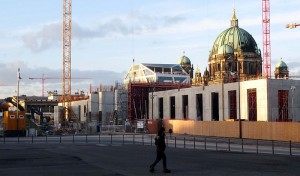 Berliner Stadtschloss-Baustelle: Die Wände wachsen / Foto: Wikipedia /   Olga Bandelowa / CC BY-SA 2.0 DE