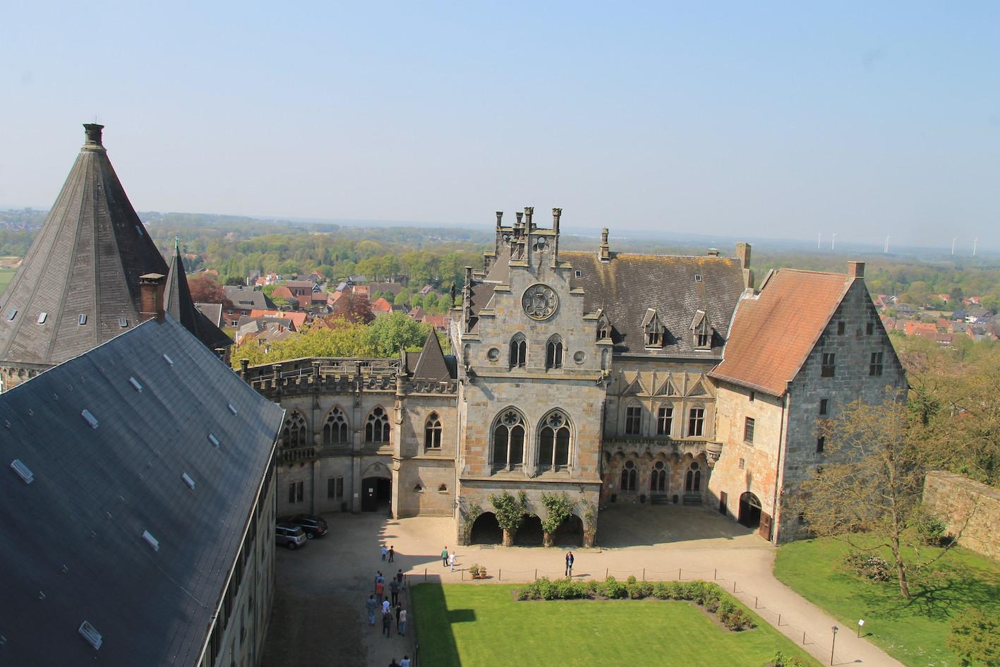 Allein Gegen Die Zeit Drehort Burg Bentheim