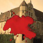 Blutflecken in Burgen: Mythen und Mordsgeschichten